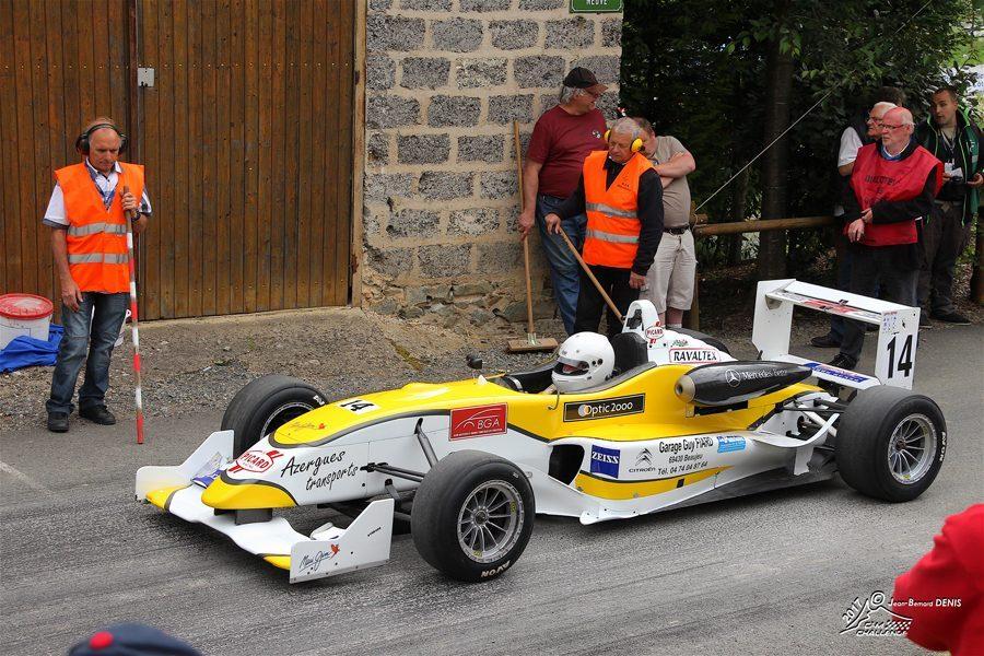 Marcel SAPIN F3 Dallara F305