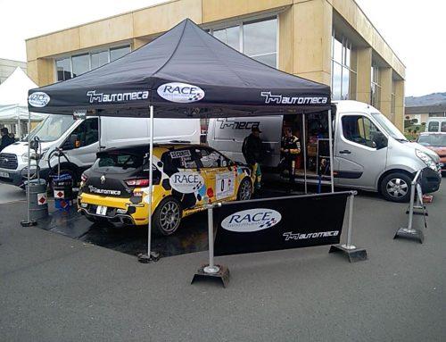 Automeca Manu Guigou Renault Clio R3t à l'assistance du rallye des vignes de Régnié Durette 2017 assistance